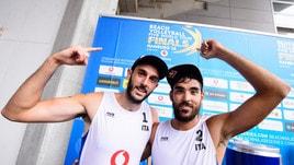 Beach Volley: esordio vincente di Lupo-Nicolai alle World Tour Finals