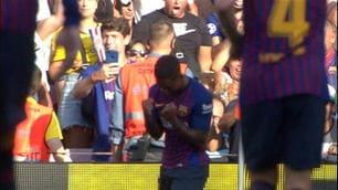 Barcellona, Malcom a segno nel Trofeo Gamper