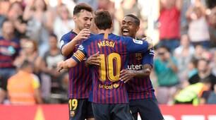 Malcom, Messi, Rafinha: Barcellona-Boca 3-0