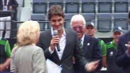 Tennis, esordio vincente per Federer a Cincinnati