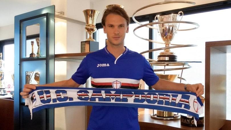 Seconda Maglia Sampdoria ALBIN EKDAL