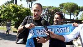 Napoli, è il giorno di Ospina: visite mediche a Villa Stuart e firma