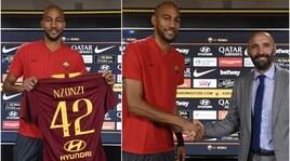 Roma, Nzonzi si presenta:«Sono qui per vincere»