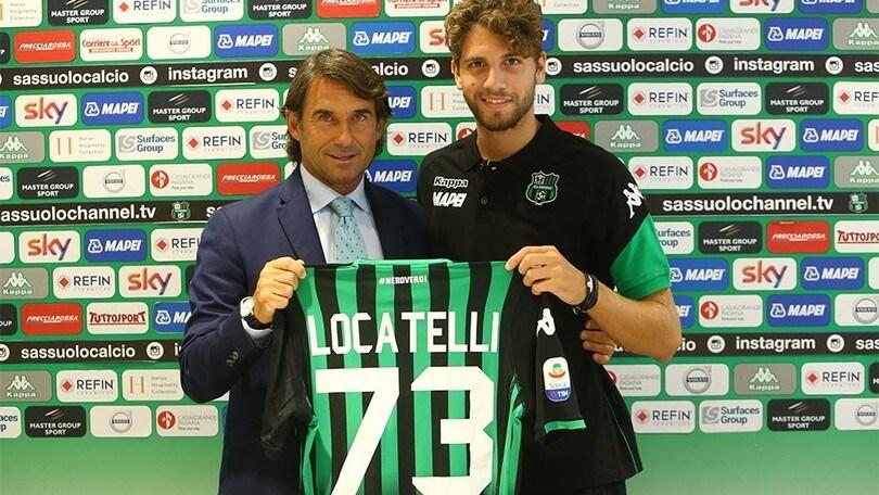 Calciomercato Sassuolo, ecco Locatelli: «Questo club mi ha fatto sentire importante. Ringrazio il Milan»