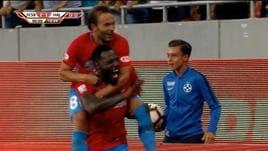 Europa League, delirio dopo il gol della Steaua al 93°