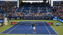 Tennis, Cincinnati: troppa pioggia, sospeso match Djokovic