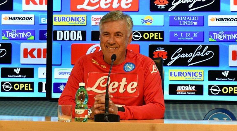 Napoli, Ancelotti: «Raggiunti gli obiettivi di mercato»