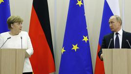 Putin-Merkel discuteranno minacce Usa
