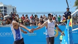 Beach Volley:  Finals World Tour, Lupo-Nicolai ko ma comunque ai quarti