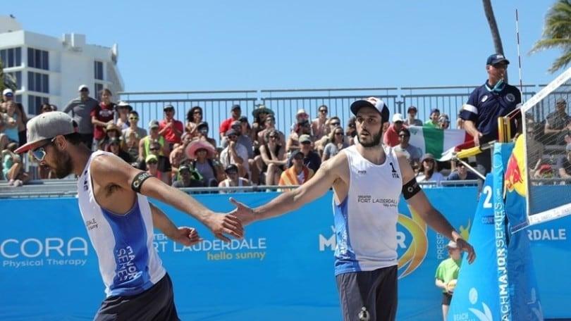 Beach Volley:  Finals World Tour, Lupo-Nicolai ko ma comunque ai quarti