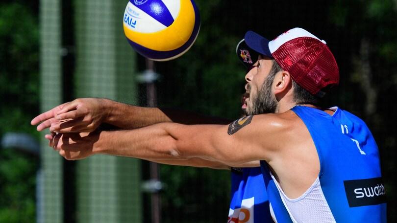 Beach Volley:  Finals World Tour, eliminati Lupo-Nicolai