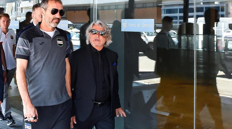Sampdoria-Giampaolo, ufficiale la rescissione consensuale