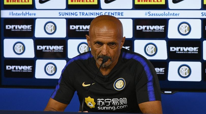 Inter, Spalletti: «Dobbiamo giocarcelo lo scudetto ma la Juve è davanti»