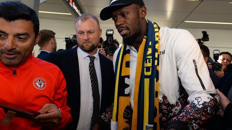 Bolt in Australia: provino con i Central Coast Mariners