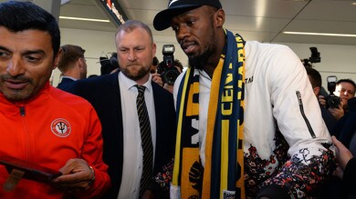 Bolt in Australia: provino con i Central Coast Mariners