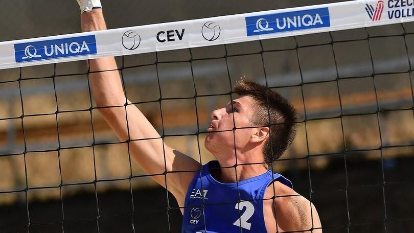 Beach Volley: Europei Under 18, le coppie azzurre si fermano agli ottavi