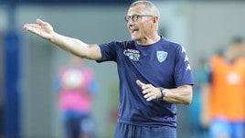 Serie A Empoli, Andreazzoli: «Aspettiamo questa partita da aprile»