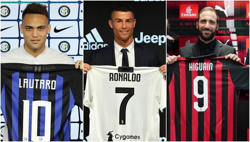 Serie A, tutti i numeri di maglia squadra per squadra