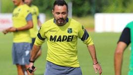 Serie A Sassuolo, De Zerbi: «Inter? Noi siamo pronti»