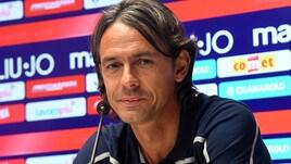 Serie A Bologna, Inzaghi: «Noi determinati: vogliamo vincere»