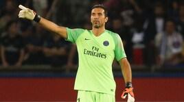Guingamp-Psg 1-3: Buffon vince in rimonta con il figlio di Thuram