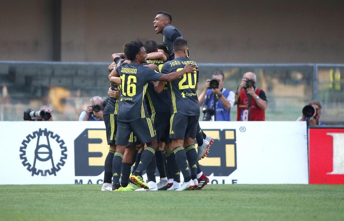 Le immagini di Chievo-Juventus