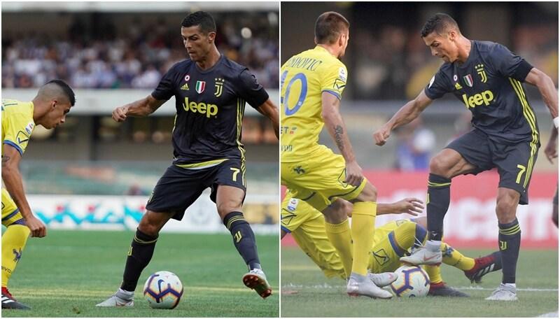 Le immagini della prima in A di Ronaldo con la Juventus