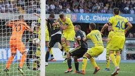 Serie A Chievo-Juventus 2-3, il tabellino