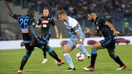 Serie A Lazio-Napoli 1-2, il tabellino