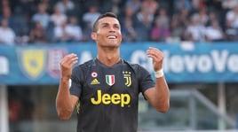 Ronaldo esulta:«Felice per la prima vittoria con la maglia della Juve!»