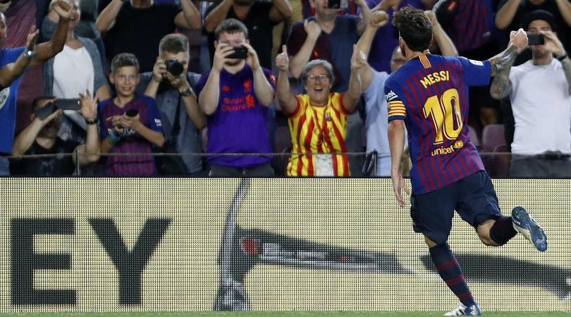 Messi scatenato: Barcellona-Alaves 3-0