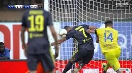 Moviola, gol annullato alla Juventus: c'è il tocco di mano di Cristiano Ronaldo