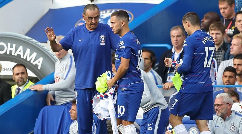 Chelsea, Hazard:«Qui sto bene, resto con Sarri»
