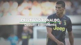 Cristiano Ronaldo, debutti a confronto