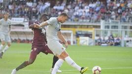 Torino-Roma 0-1: eurogol Dzeko, sorride Di Francesco