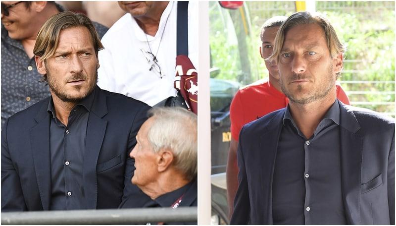 Torino-Roma, in tribuna c'è anche Totti