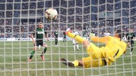 Sassuolo-Inter 1-0, il film della partita