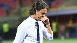 Serie A Bologna, Inzaghi: «Partita sempre bloccata, difficile sfondare»