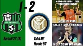 Inter ko all'esordio sul campo del Sassuolo: social senza pietà