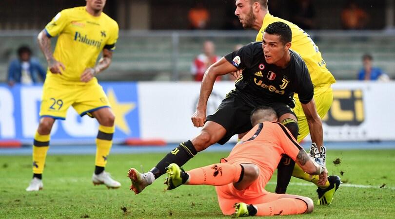 Chievo, Sorrentino: «Ronaldo, messaggio di vicinanza. Grazie leggenda!»