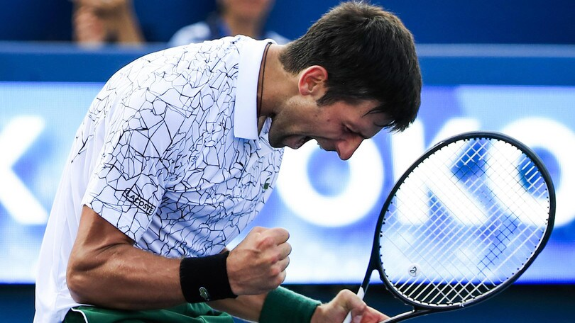 Tennis, Djokovic è l'uomo da battere agli US Open