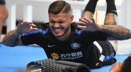 Inter, la ripresa alla Pinetina: volti scuri in allenamento