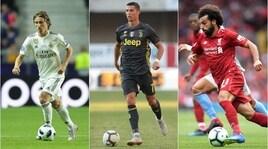Fifa World player, è lotta a tre Cristiano Ronaldo-Modric-Salah