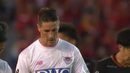 Torres, tanto cuore ma niente gol con il Sagan