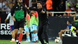 Rodrigo acciuffa Correa: pari tra Valencia e Atletico