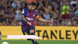 Barcellona, gol 6000 nel segno di Messi