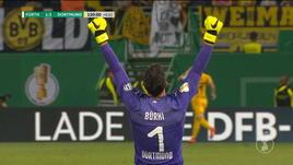 Greuther Furth-Borussia Dortmund 1-2
