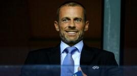 Uefa, la Figc conferma il sostegno a Ceferin