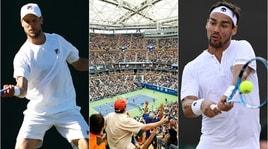 Tennis, US Open: ben 14 gli azzurri in gara. Due derby al via