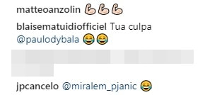 """Juventus, Matuidi e la """"squadra vincente"""". Ma a Dybala non piace la foto di Cancelo"""